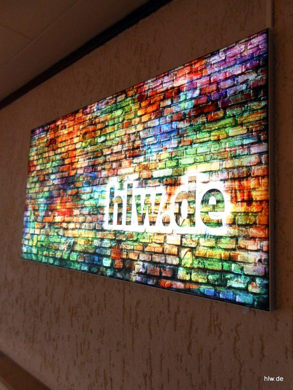 LED-Banner für Innen