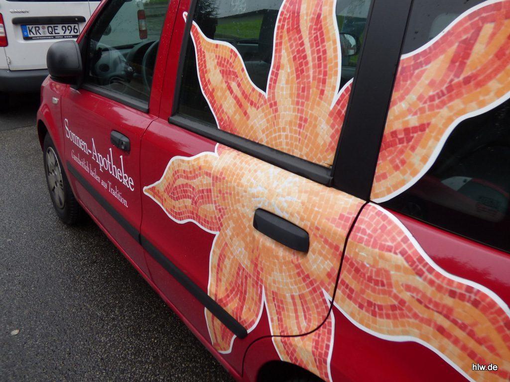 Fahrzeugbeschriftung mit Digitaldruck
