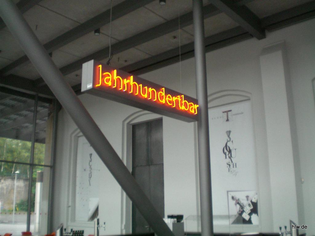 Neon-Schriftzug