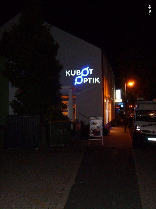 Lichtwerbung - Kubot Optik