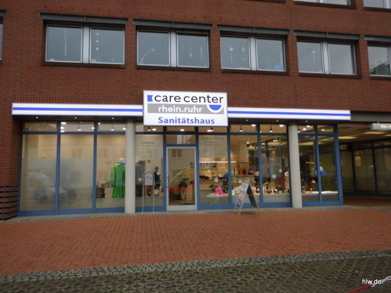 Lichtwerbung - Care Center Rhein-Ruhr