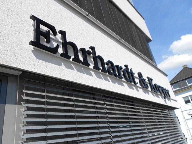 LED-Buchstaben als Rückleuchter - Ehrhardt & Kreyer