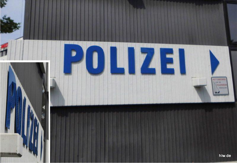 Einzelbuchstaben - Polizei Bochum