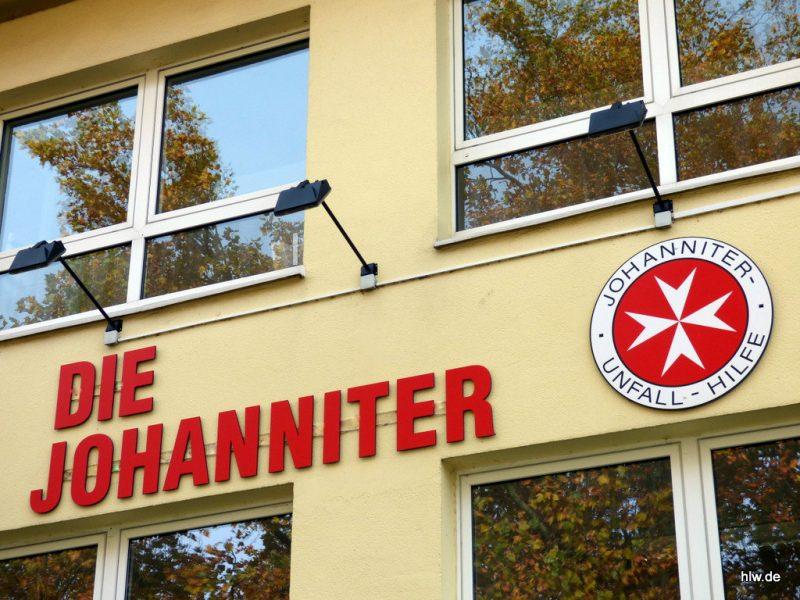 Einzelbuchstaben und Logo - Die Johanniter