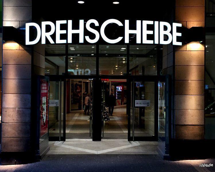 LED-Buchstaben - Drehscheibe in Bochum