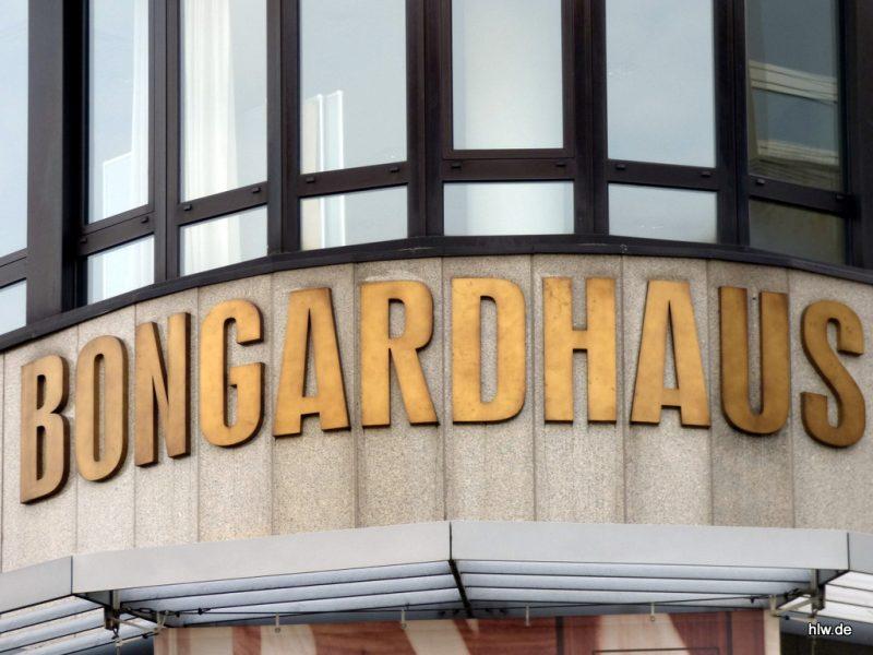 Buchstaben - Bongardhaus in Bochum