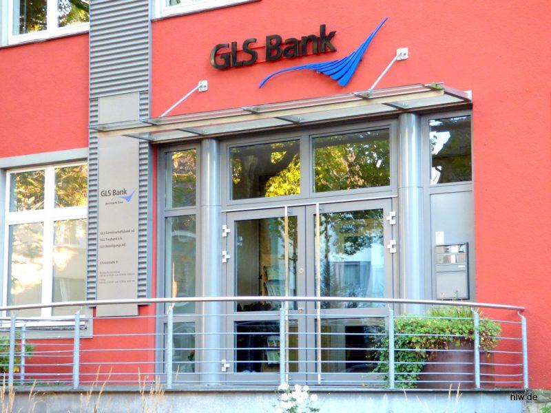 LED-Buchstaben - GLS Bank Bochum