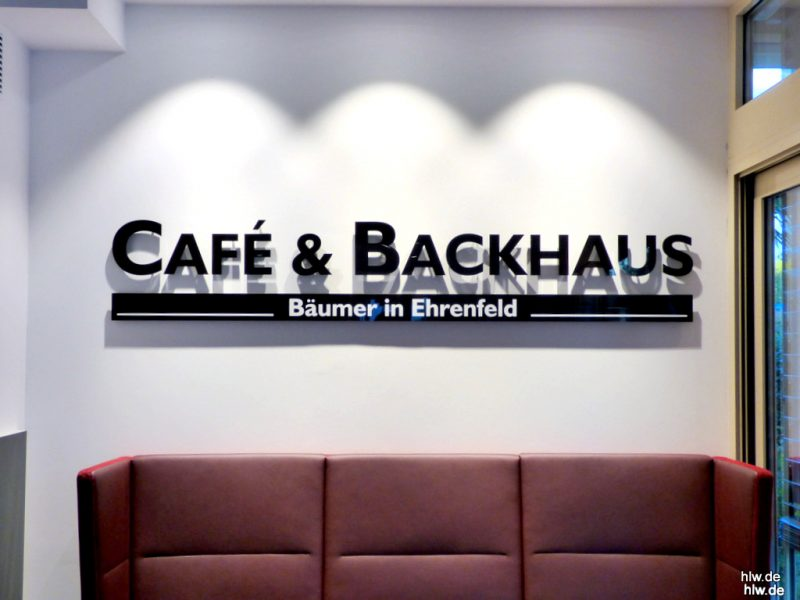 Buchstaben - Bäckerei Bochum