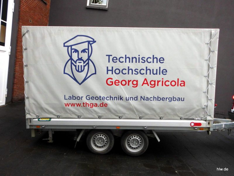 Anhänger-Beschriftung, Bochum