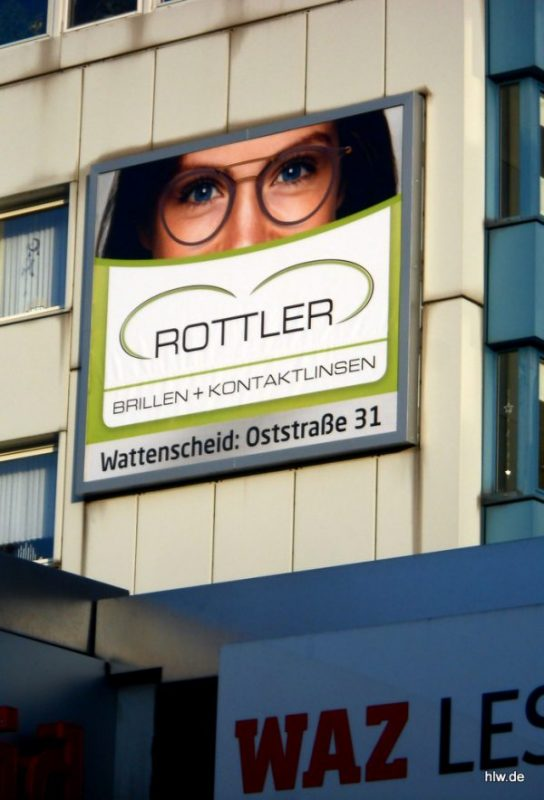 Banner in Bochum-Wattenscheid