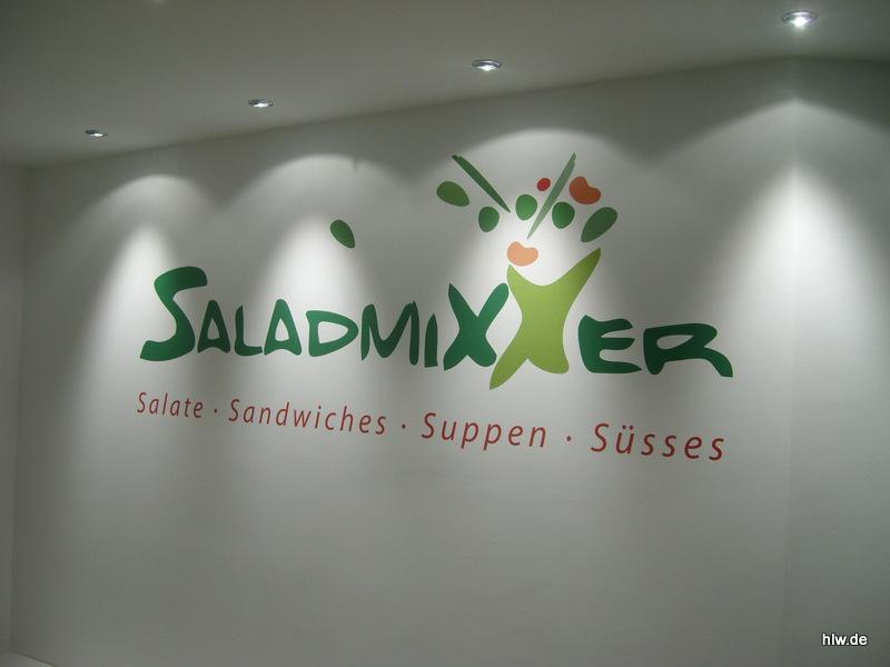 Wand-Beschriftung, SaladMixxer