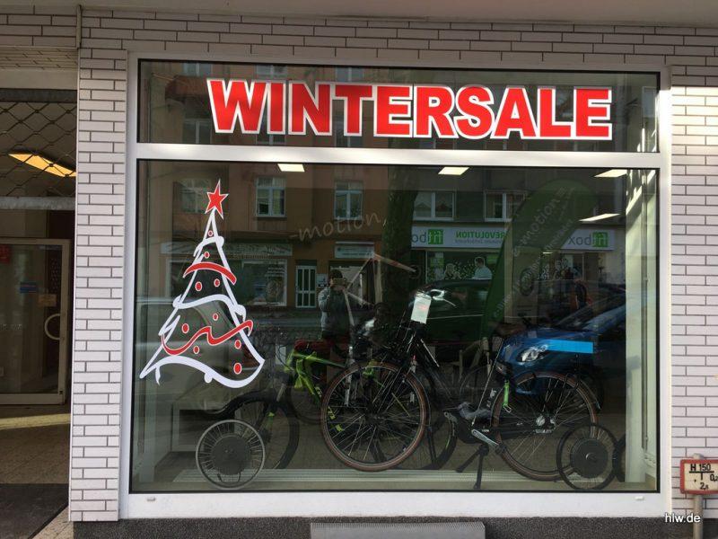Fenster-Beschriftung zu Weihnachten, Jewo emotion