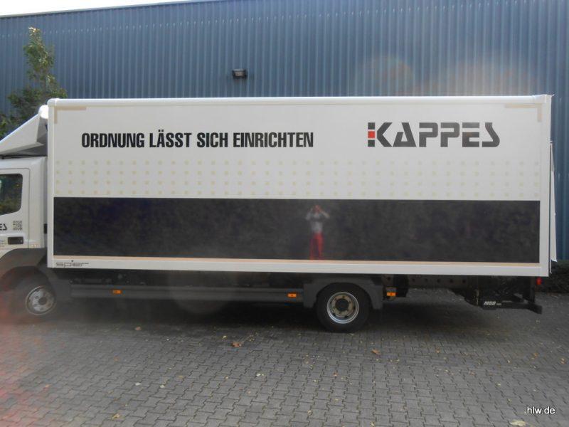 LKW-Beschriftung, Bochum, Autobeschriftung, LKW
