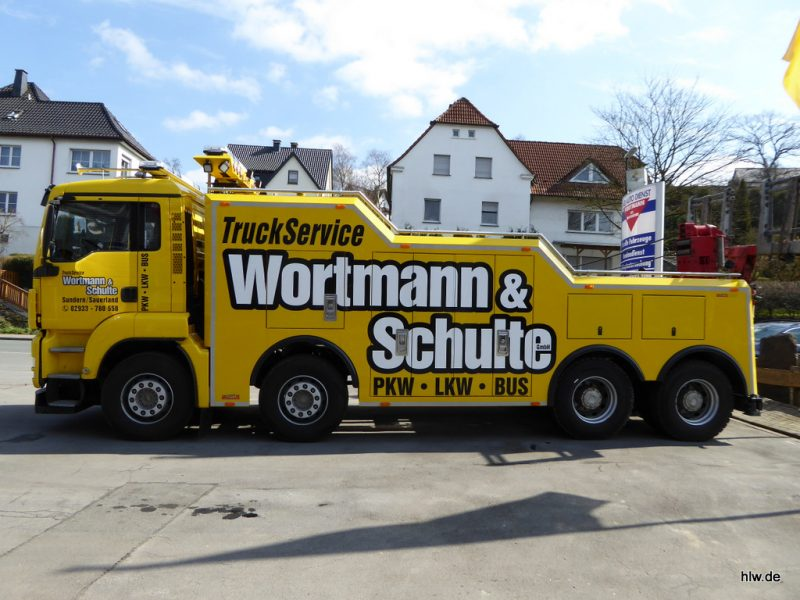 LKW-Beschriftung, Truck Service, HSK, Sauerland,