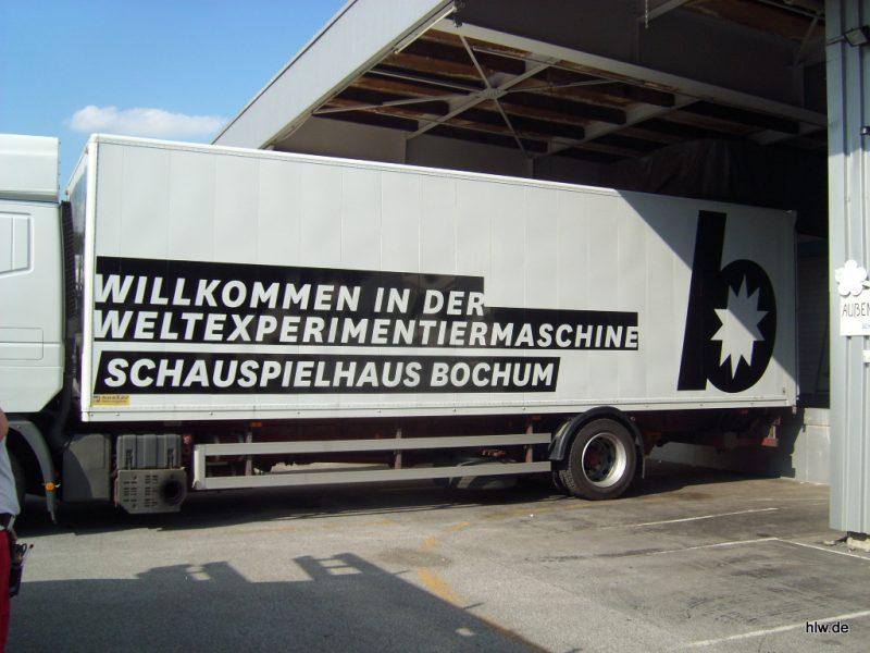 LKW-Beschriftung, Bochum