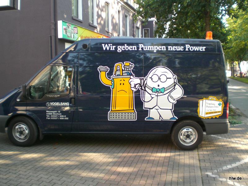 Fahrzeug-Beschriftung, Bochum