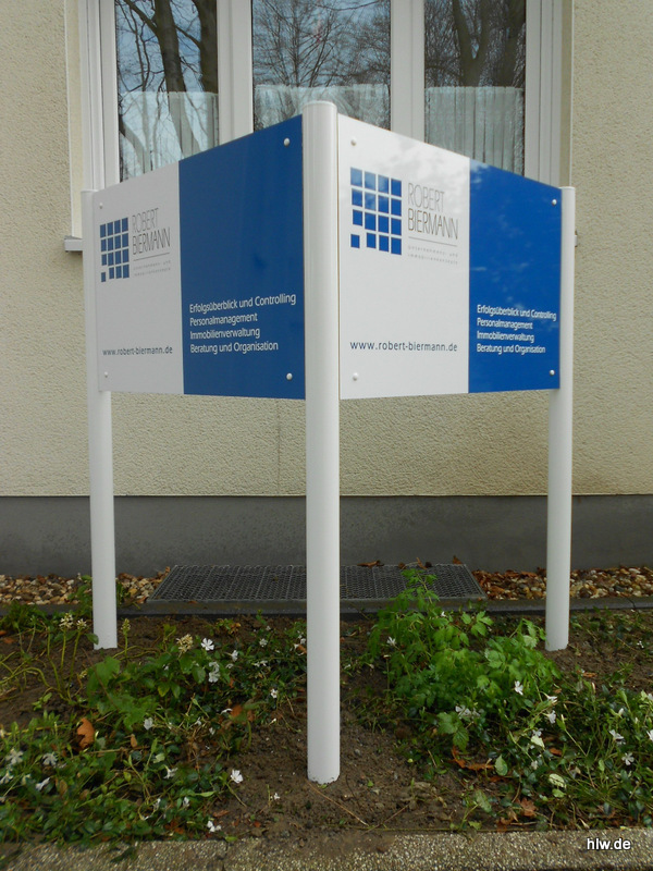 Dreiecks-Standschild