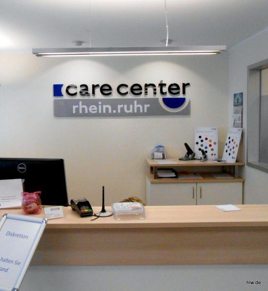 Buchstaben im Innenbereich - Bochum