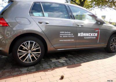 Fahrzeugbeschriftung VW Golf
